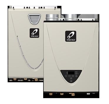 Takagi High Efficiency Tankless Water Heaters