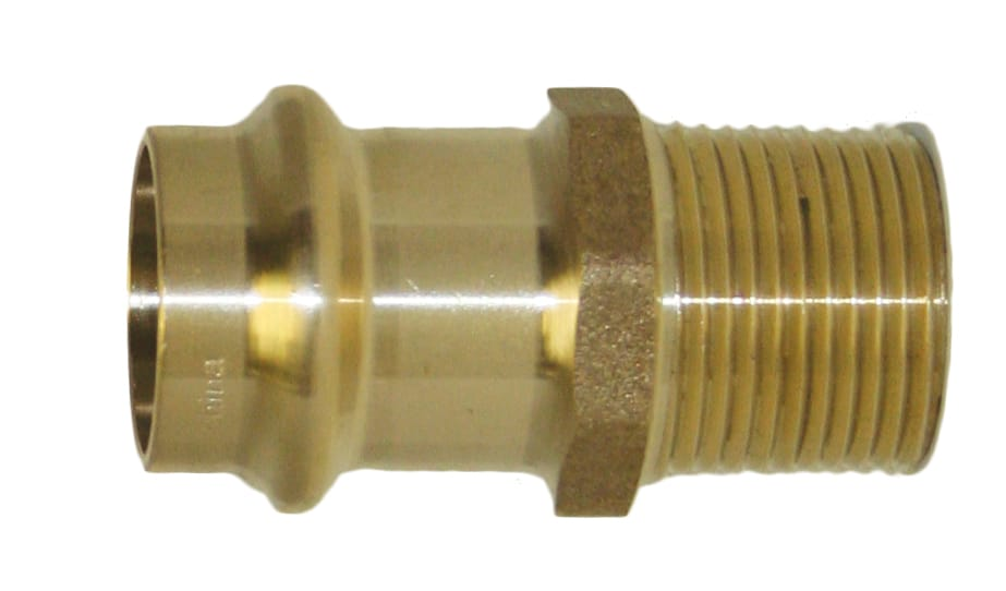Copper Press Male Adapters