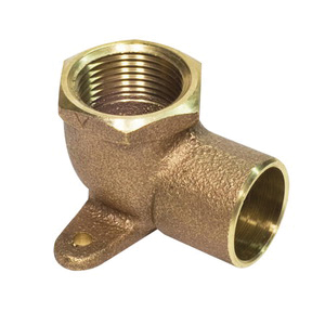 Cast Brass 90 Drop Ear Elbow CxF