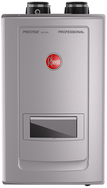 Rheem Tankless Gas Water Heaters with Built-in Recirculation