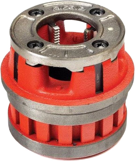 Ridgid 37510 12-R 1/8 NPT Die Head Complete H.S. for StainleSS