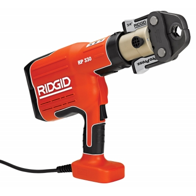 Ridgid 27938 RP 330 Corded Pressing Tool w/Case (No Jaws)