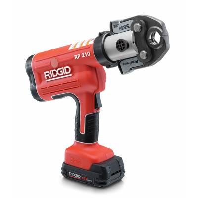 Ridgid 31028 RP210 Battery Press Tool Kit w/Propress Jaws (1/2 - 1-1/4)