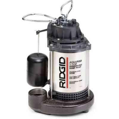 Ridgid 85942 SP-330 1/3 HP Submersible Sump Pump