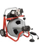 """Ridgid 27003 K-400 Drain Cleaner with 1/2""""x50' C-44IW Cable (115V)"""
