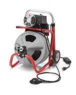 """Ridgid 26993 K-400 Drain Cleaner with 3/8""""x50' C-31IW Cable (115V)"""