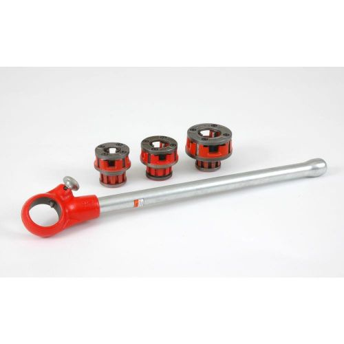 "Ridgid 36345 00-R 1/2""-1"" NPT Exposed Ratchet Threader Set"