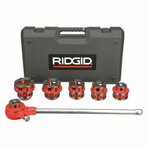 "Ridgid 36475 12-R 1/2""-2"" NPT Exposed Ratchet Threader Set"