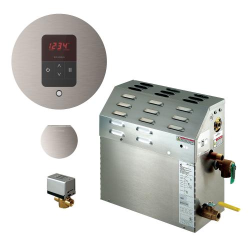 Mr Steam MS90EC1 - 5kW Steam Bath Generator with iTempo Autoflush Round Package 90C1ATRD-BN