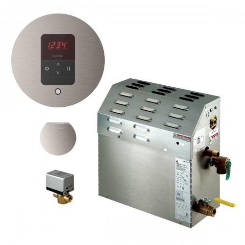 Mr Steam MS150EC1 - 6kW Steam Bath Generator with iTempo Autoflush Round Package 150C1ATRD-BN