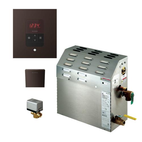 Mr Steam MS150EC1 - 6kW Steam Bath Generator with iTempo Autoflush Square Package 150C1ATSQ-ORB
