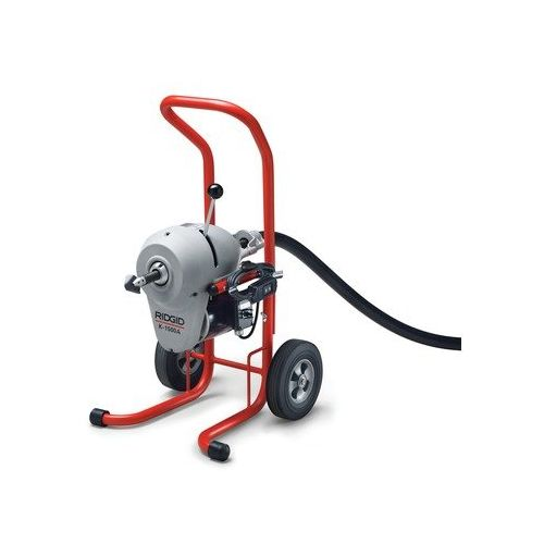 Ridgid 23692 K-1500A Sectional Drain Cleaner with Standard Equipment  (No Cables)