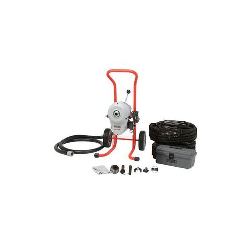 Ridgid 23712 K-1500A Sectional Drain Cleaner w/ C11 Cable