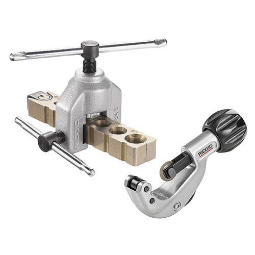 Ridgid 24797 345 Manual Flare Tool w/ 150 Tubing Cutter & Case Kit