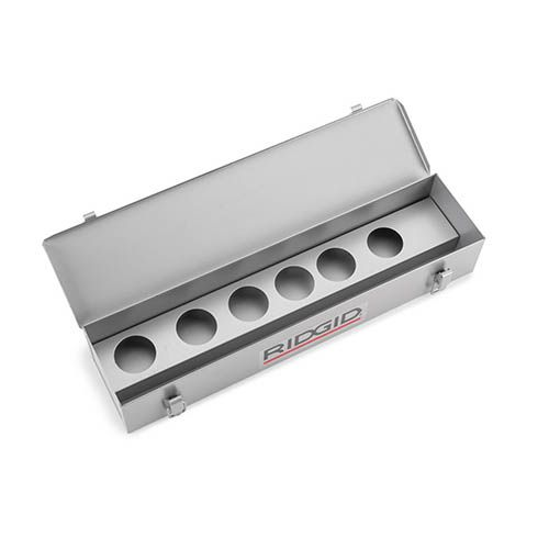 Ridgid 38605 Metal Carrying Case for 0-R & 00-R Die Heads (Case Only)