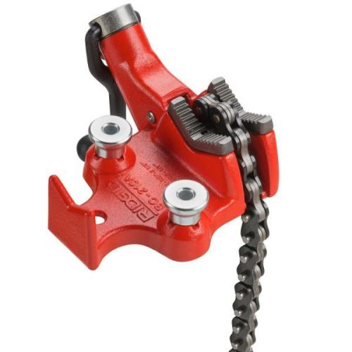 "Ridgid 40185 BC210A 1/8""-2-1/2"" Top Screw Bench Chain Vise"