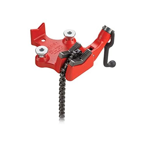 "Ridgid 40215 BC810A 1/2""-8"" Top Screw Bench Chain Vise"