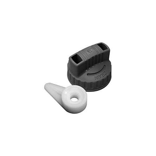 Ridgid 41598 Wet/Dry Vac Filter Nut/Drain Cap Combo VT2561