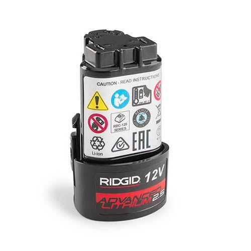Ridgid 55183 12V Advanced Lithium 2.5Ah Battery