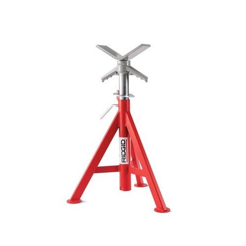 "Ridgid 56657 VJ-98 20""-38"" V-Head Low Pipe Stand"
