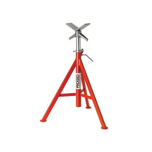 "Ridgid 56662 VJ-99 28""-52"" V-Head High Pipe Stand"