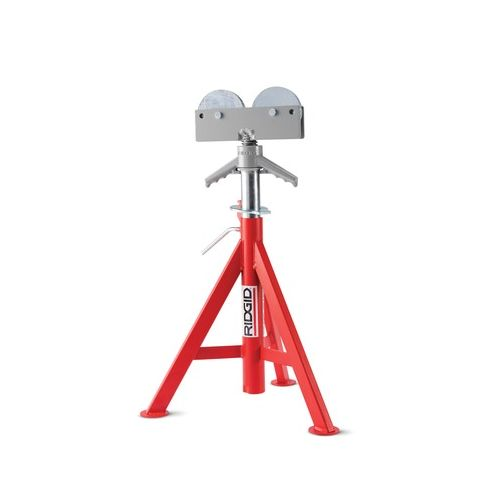 Ridgid 56667 Model RJ-98 Roller Head Low Pipe Stand. 23 - 41 Height Adjustment