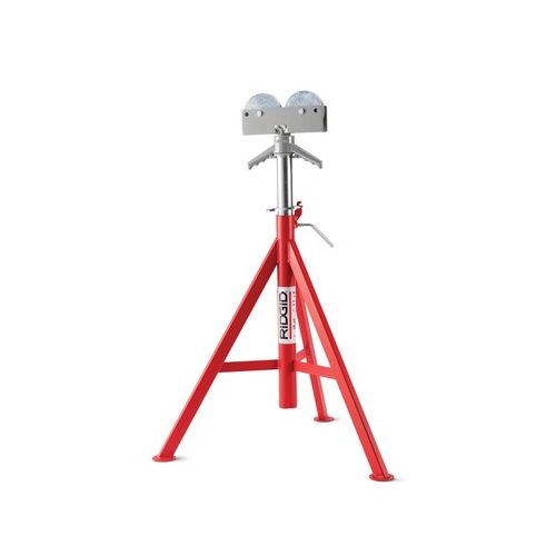 "Ridgid 56672 RJ-99 32""-55"" Roller Head High Pipe Stand"