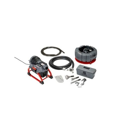 Ridgid 61693 K-5208 Sectional Drain Cleaner with Cables, Carrier, and Toolbox