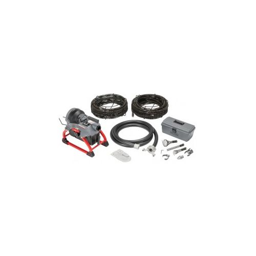 Ridgid 62378 K-5208 Sectional Drain Cleaner with Cables, Carriers, and Toolbox