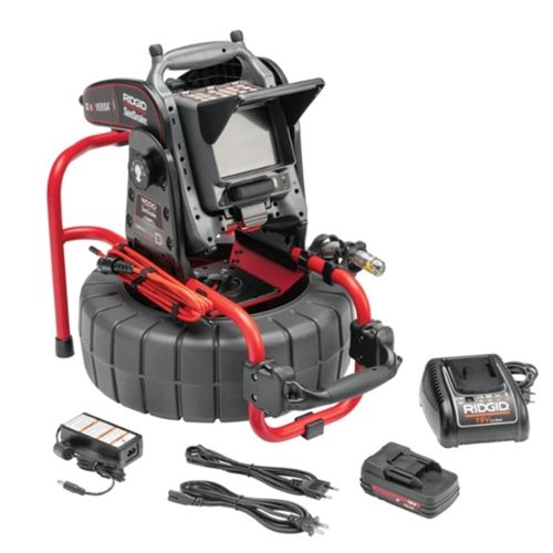 Ridgid M40 Reel SL w/TruSense 25mm W/CS6x WIFI Versa Monitor, Battery & Charger