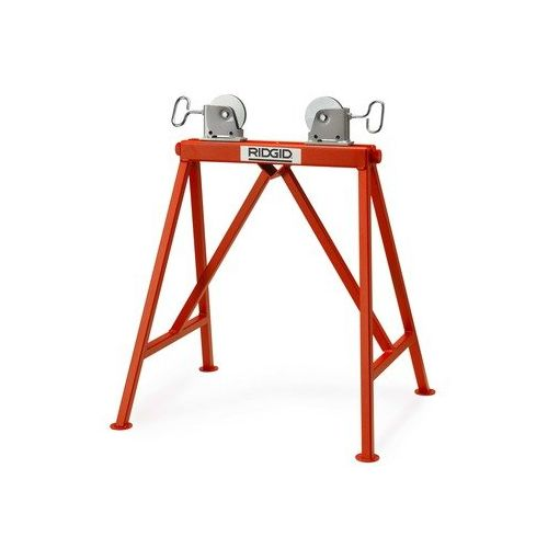 Ridgid 64642 AR99 Adjustable Roller Stand w/ Steel Wheels