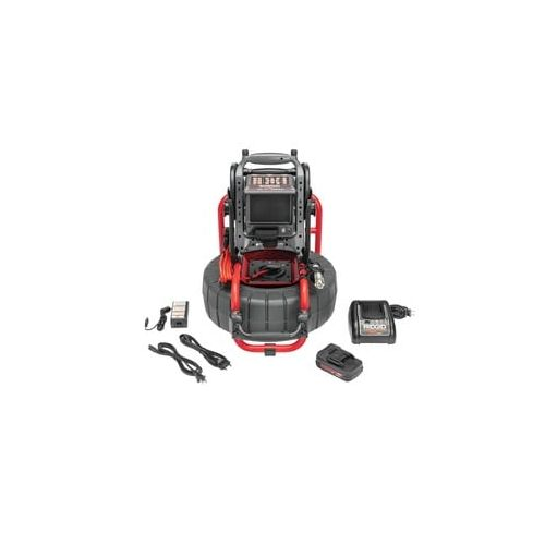 Ridgid 65103 Sesnake Compact2 with VERSA Monitor, Battery, and Charger