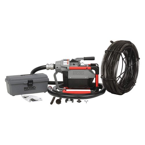 Ridgid 66497 K-60SP-SE Sectional Sewer Machine w/ Cable Kit (115V)