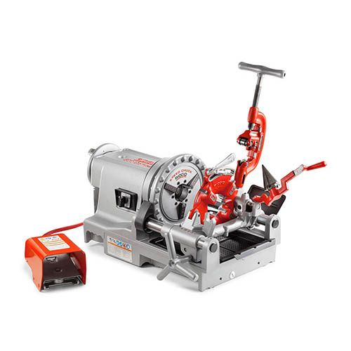 "Ridgid 73447 300 Compact Threading Machine 1/2""-2"" NPT (115V) 52RPM"