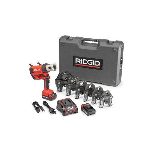 "Ridgid 67053 Propress RP 350 Battery Press Tool Kit w/ProPress Jaws (1/2""-2"")"