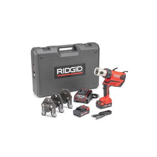 "Ridgid 67058 RP-350 Battery Press Tool Kit w/ ProPress Jaws (1/2""-1"")"