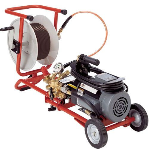 Ridgid 67332 Water Jetting Machine w/ Dual Pulse and H10 Cart