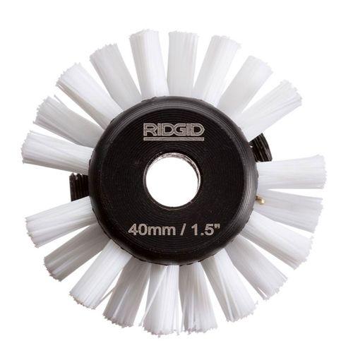 """Ridgid 68933 1-1/2"""" Nylon Brush for 1/4"""" Cable (K9-102)"""