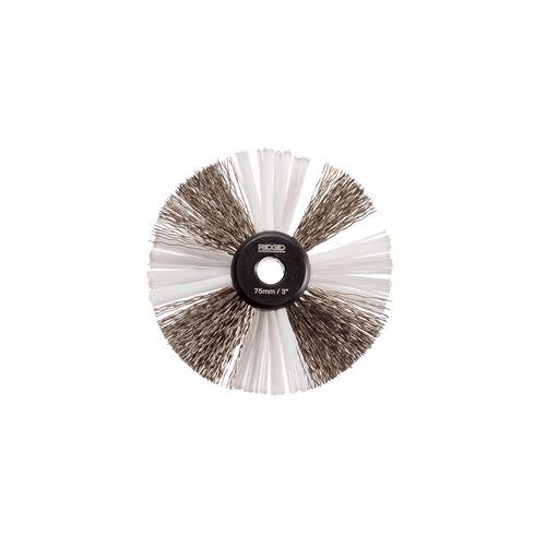 "Ridgid 68978 3"" Nylon/Steel Brush for 5/16"" Cable with Nylon & Steel Strings (K9-204)"