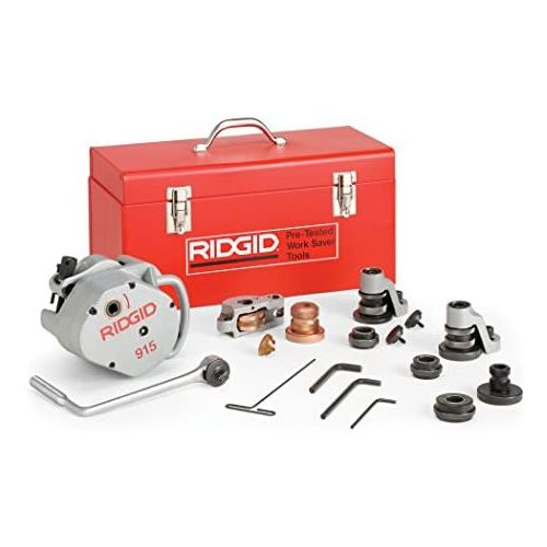 """Ridgid 88232 915 Roll Grover with 2""""-6"""" S/10 Roll Set (2""""-3-1/2"""" S/40)"""