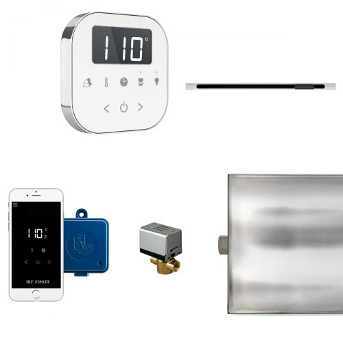 Mr Steam White AirButler Package with Linear Steam Head