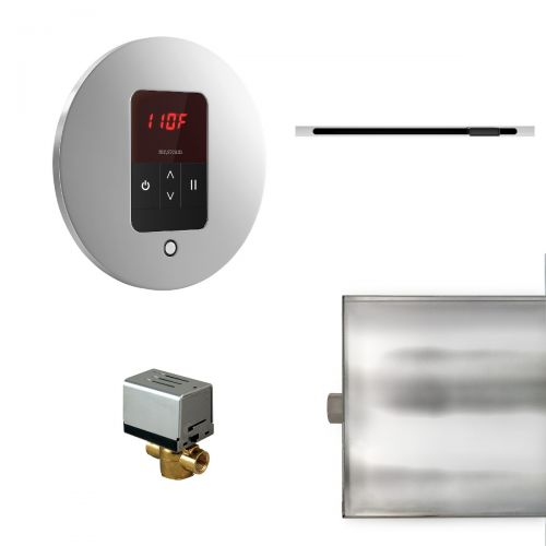 Mr Steam Round Basic Butler Package with Linear SteamHead