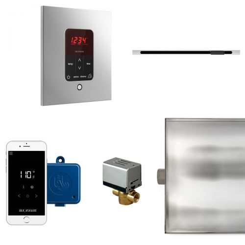 Mr Steam Square Butler Package with Linear Steam Head