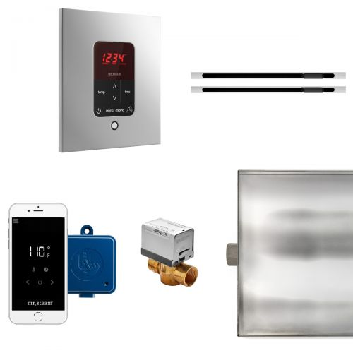 Mr Steam Square Butler MAX Package with Linear Steam Head