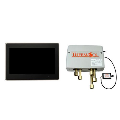"""Thermasol Digital Shower Package w/ Thermastouch 10"""" LCD Control"""