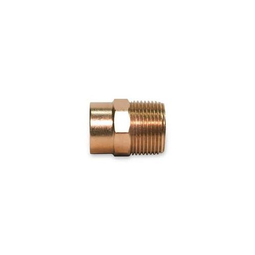 3/4 Copper X Male Adapter