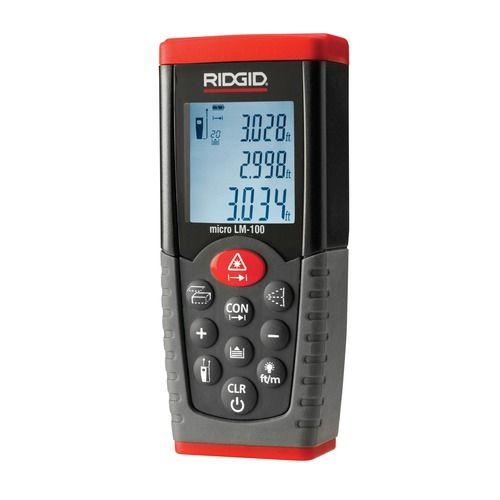 Ridgid 36158 LM-100 Laser Distance Meter