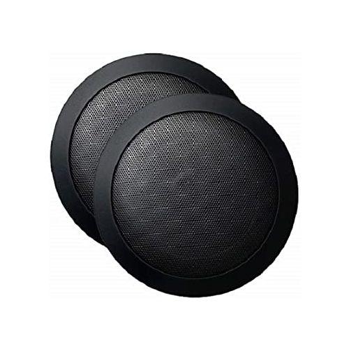 Mr Steam Audio Speakers (Round)-Black