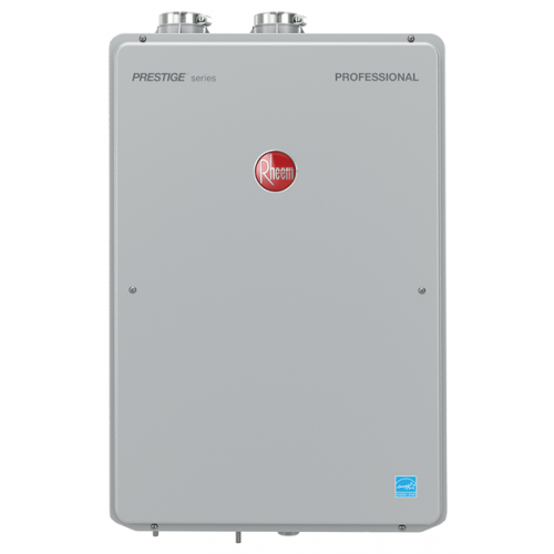 RHEEM RTGH-90DVLN-2 9.0 GPM INDOOR DIRECT VENT TANKLESS NATURAL GAS WATER HEATER
