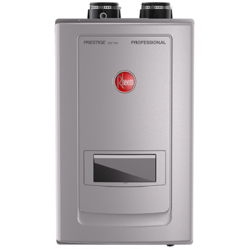 Rheem RTGH-RH11DVLP Prestige Series PROPANE Condensing Tankless Water Heater with Built-In Recirculation